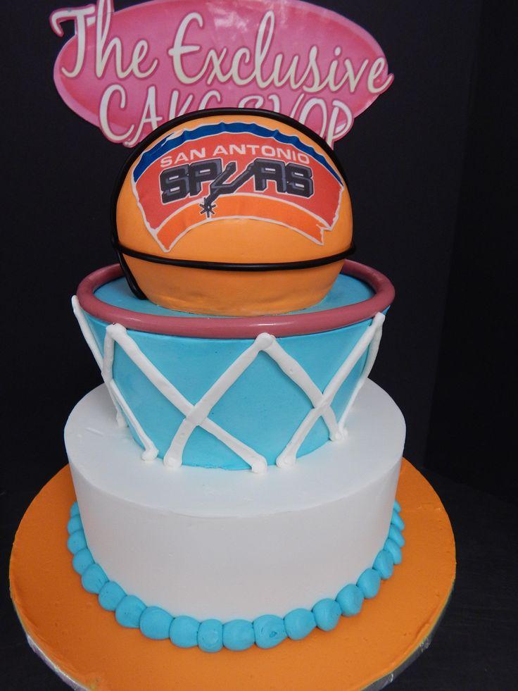 San Antonio Spurs Cake Ideas