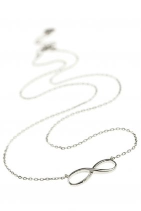 a sterling silver #infinity #necklace surrounds your neck with endless elegance I NEWONE-SHOP.COM