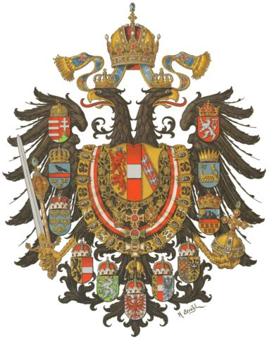 Empire of Austria-Hungary House of Habsburg-Lorraine   The Austro-Hungarian Empire, was a monarchic union between the Austrian Empire and the Kingdom of Hungary in Central Europe. The union was a result of the Compromise of 1867, under which the Austrian House of Habsburg agreed to share power with the Hungarian government, dividing the territory of the former Austrian Empire between them. The Dual Monarch lasted 51 years until 1918, when it was dissolved following military defeat in the…