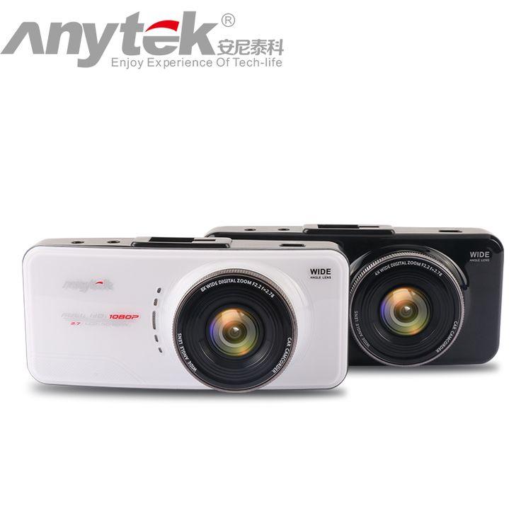 Asli anytek kamera at66a novatek mobil dvr full hd 96650 mobil perekam Kotak Hitam 170 Derajat 6G Lens Supper Night Vision Dash Cam