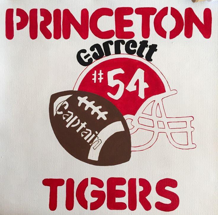 High school yard sign (football)