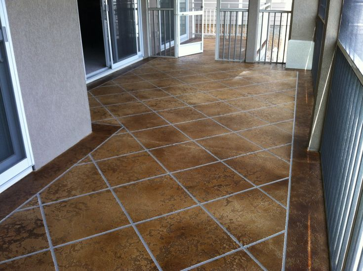Concrete Overlay Flooring : Best decorative concrete overlay flooring lake ozark