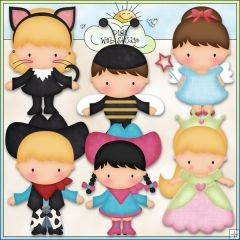 Halloween Costume Kids 2 - Excl. Kristi W. Designs Clip Art : Digi Web Studio, Clip Art, Printable Crafts & Digital Scrapbooking!
