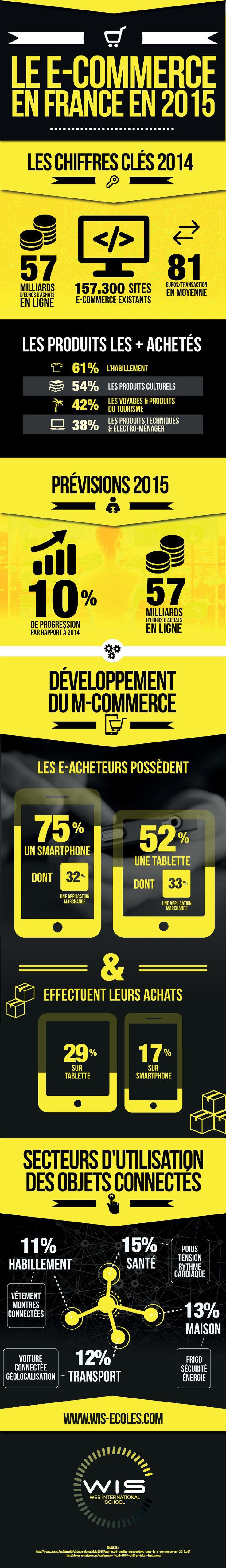 E-commerce en France : comparatif des chiffres 2014 et 2015 (infographie) – Entreprendre.fr