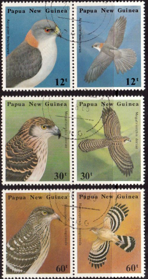 Papua New Guinea 1985 Defence Force Set in Tenant pairs Fine Used SG 500/5 Scott 620/5 Other European and British Commonwealth Stamps HERE!
