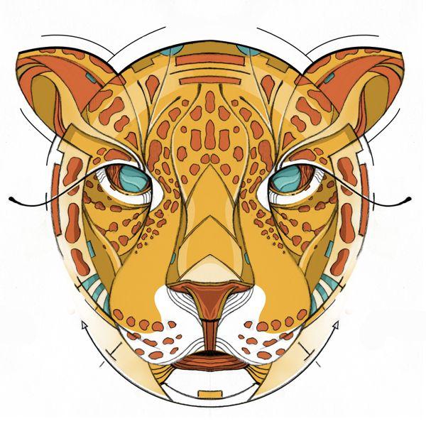 Dime Jaguar / Tell me Jaguar by Didier Vázquez, via Behance