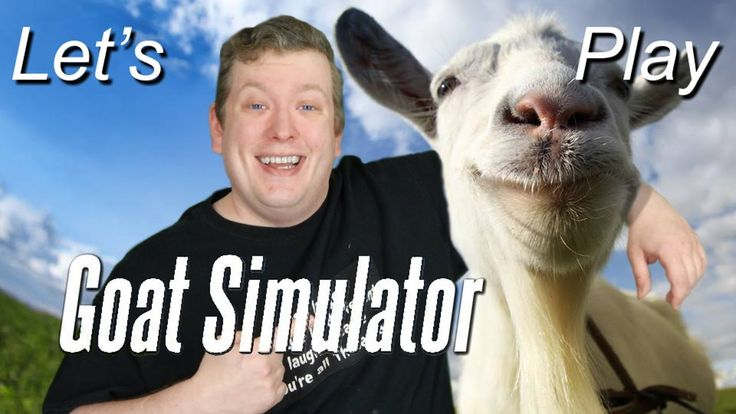 it's true Goats can't fly space ships Let's Play Goat Simulator part 7