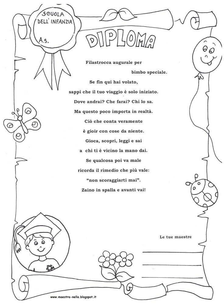 maestra Nella: per i bimbi della mia sezione...