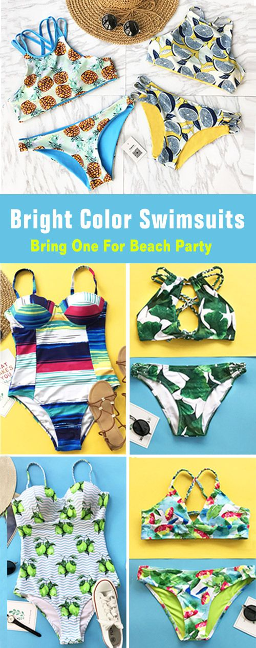 Treat Yourself to Something Special. Faster Shipping! These flattery swimwears are chic must-have of the year! Your perfect option for a hot summer vacation! Check them out.