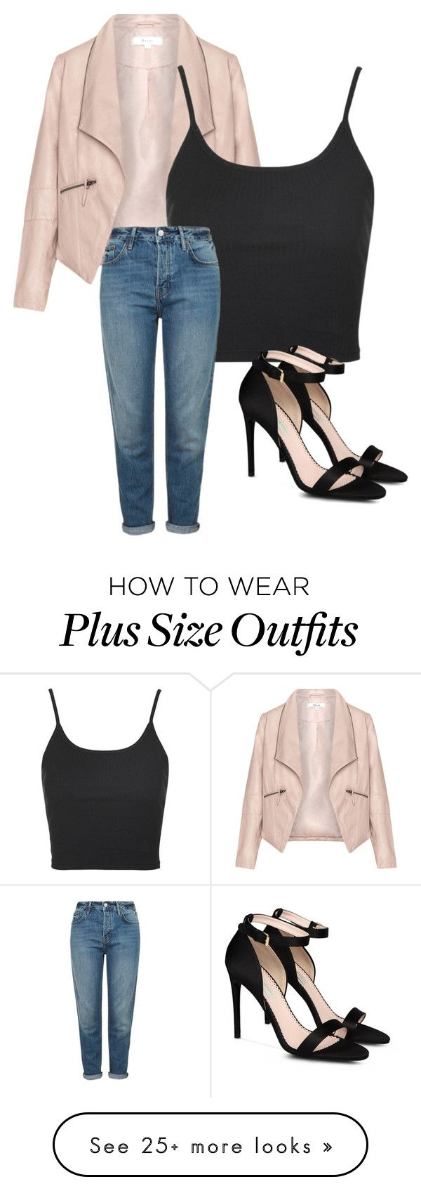 """#729"" by fashionicon2004 on Polyvore featuring Zizzi, Topshop and STELLA McCARTNEY"
