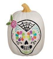Pumpkin Skull Kithttp://www.styledtosparkle.com/styledpicks/giftsandholidays/pumpkin-decorating-kits/