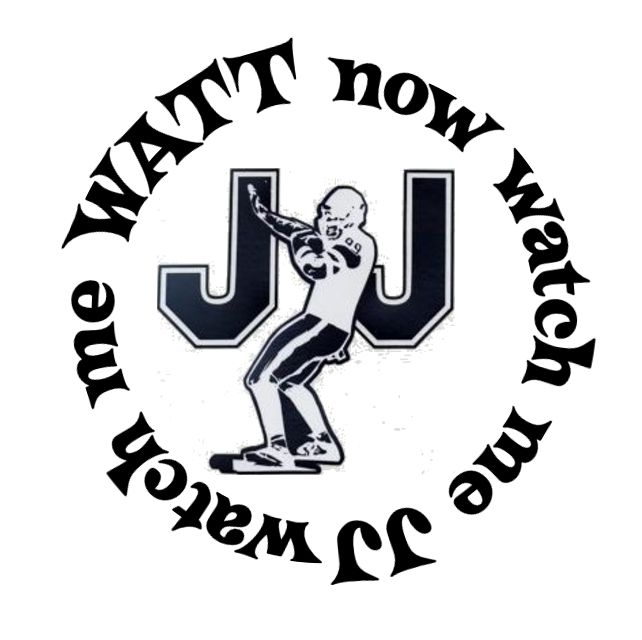 "JJ Watt Houston Texans Button and 6"" Ribbon"