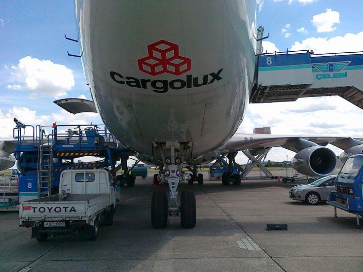Cargolux Boeing B747 in Budapest II.