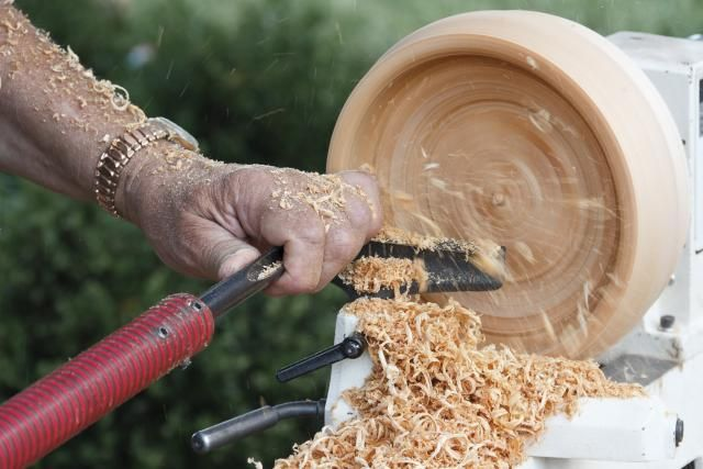 Turning a wooden bowl on a lathe is a challenging and fun project. Here are the basics you need to know to get started with wood turning a bowl.