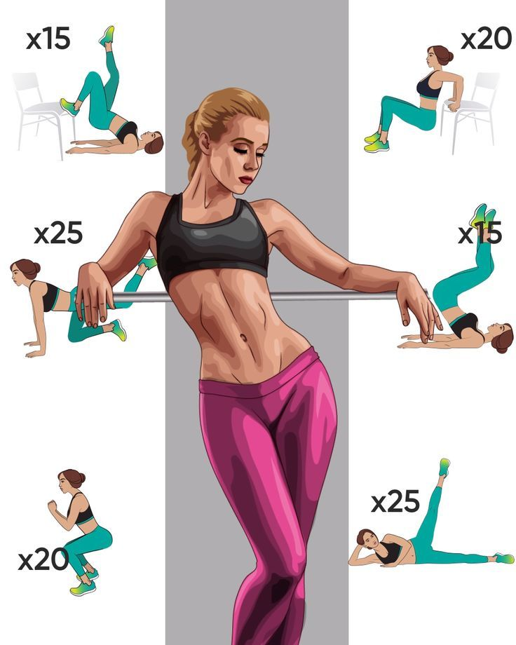 Workout for slimmer body in 4 weeks