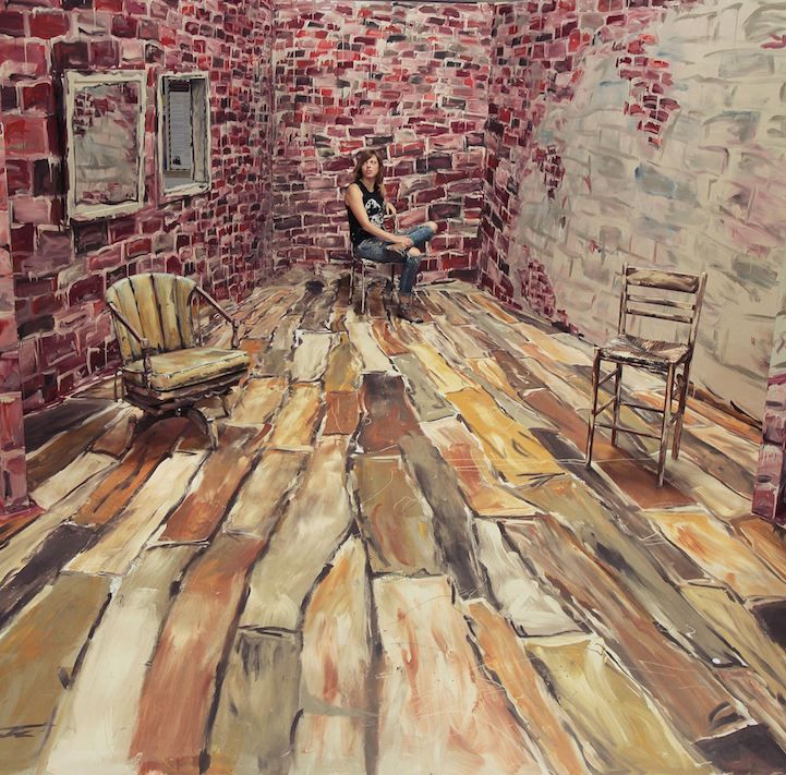 Alexa Meade Transforms a Room Into a Two-Dimensional Painting - My Modern Met