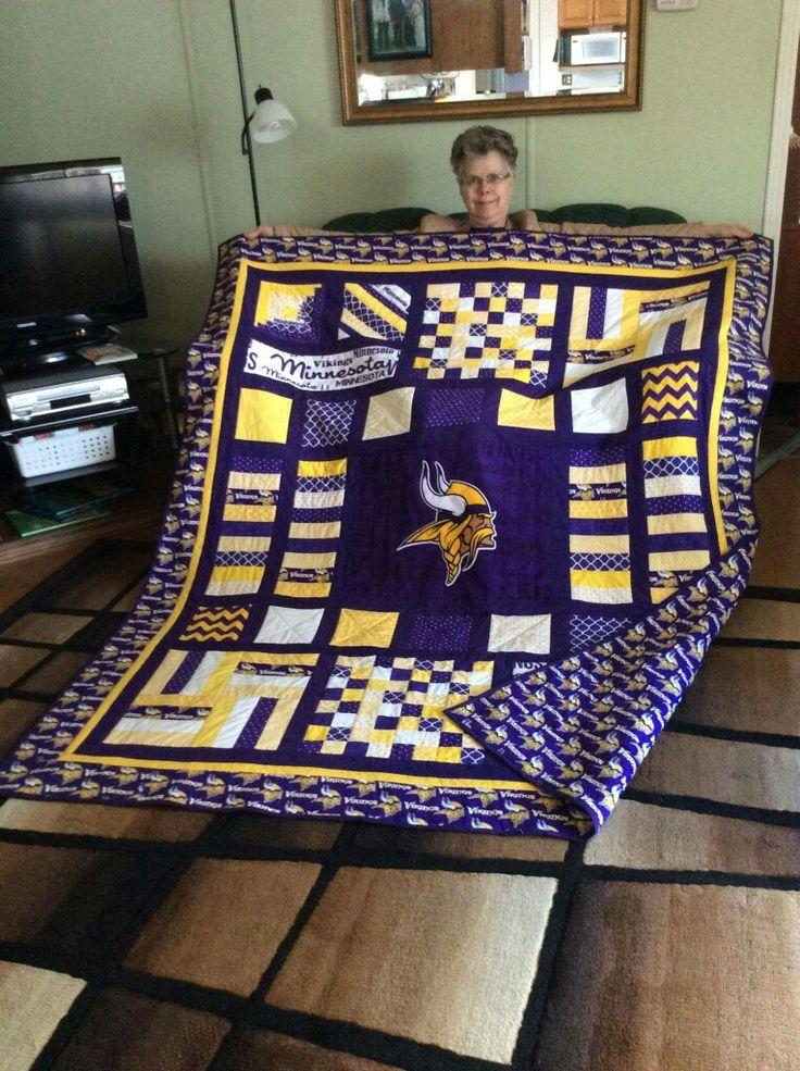 Minnesota Vikings quilt