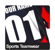 Vinyl Names & Numbers  Our Sportswear Range  Cool Dry T-Shirts  Sports Team Packages