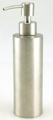 Pump tvål i metall