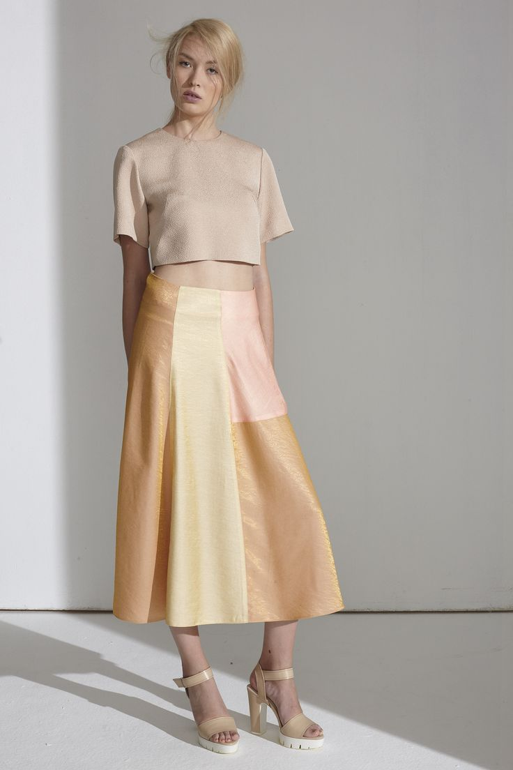 Sand Top / Dawn Skirt #thefour #ss15 #multicolor