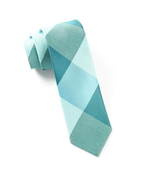 448ad6713d1b Bison Plaid Ties - Turquoise | Ties, Bow Ties, and Pocket Squares | The Tie  Bar