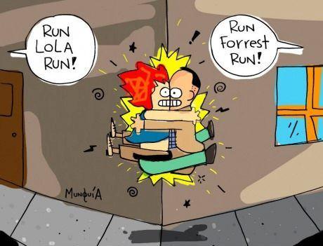 run, lola, run, forrest!