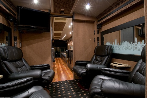Executive professional bus conversion
