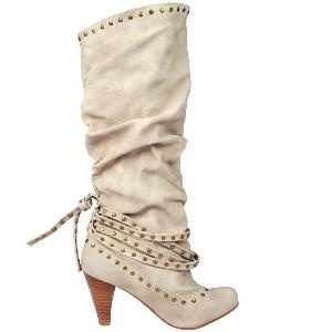 """Not Rated \""""sapphire\"""": Leather Boots, Colors, Studs Boots, Shoes Boots, Fashion Beautiful Workout, Fashion Passion Fashion, Cream Studs, I'M, Fashion Styl"""