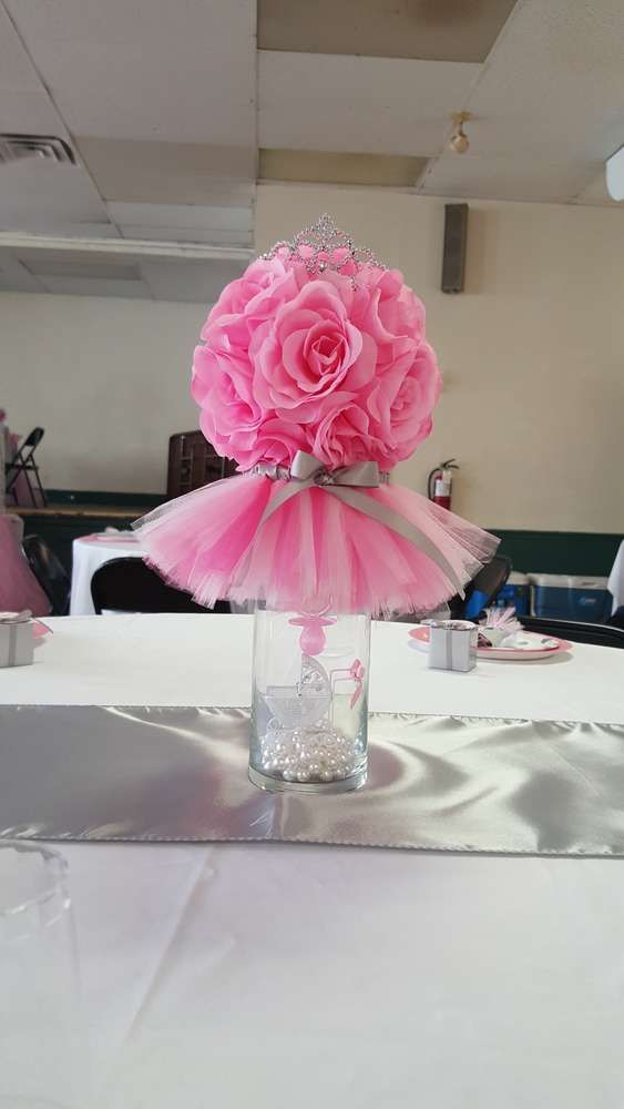 Tutus And Tiaras Baby Shower Party Ideas Baby Shower