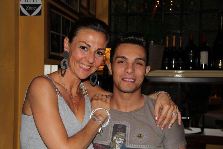 STEFY & IL CANTANTE ITALIANO  MARCO CARTA