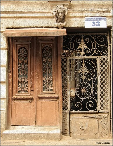 Door & Gate on Davit Aghmashenebeli Avenu, Tbilisi - By Ivane Goliadze