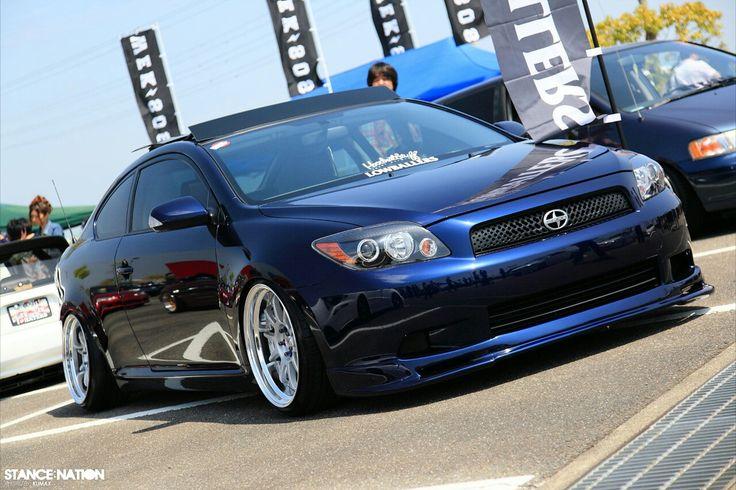 """2005 Scion (TC) """"Sports Coupe"""" Modified (Blue)"""