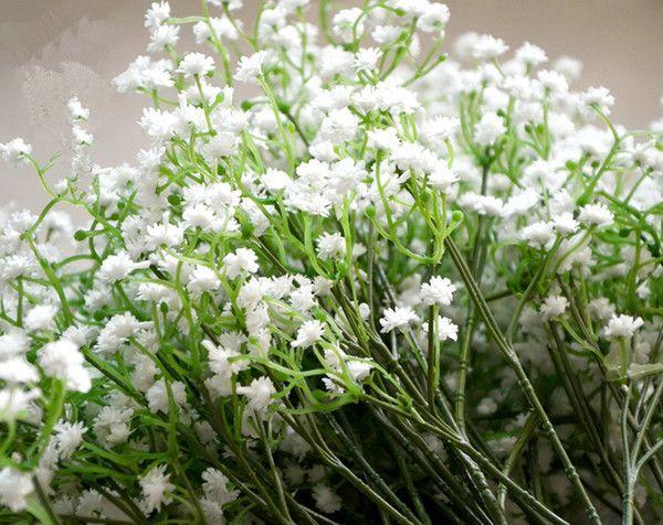 54cm Gypsophila Babyu0027S Breath Artificial Plastic Flower Plant Home Holy  Wedding Decorative Flowers As Low As $34.18, Also Buy Peonies Wedding  Flowers Price ...