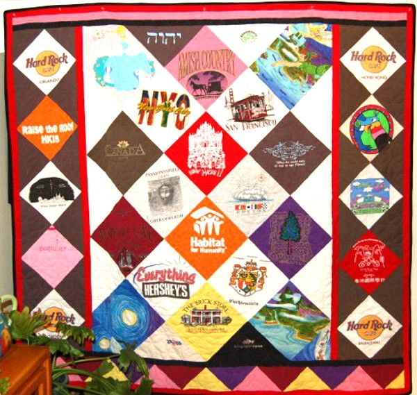 Christmas Gift from Father - Brittany's T-Shirt Quilt