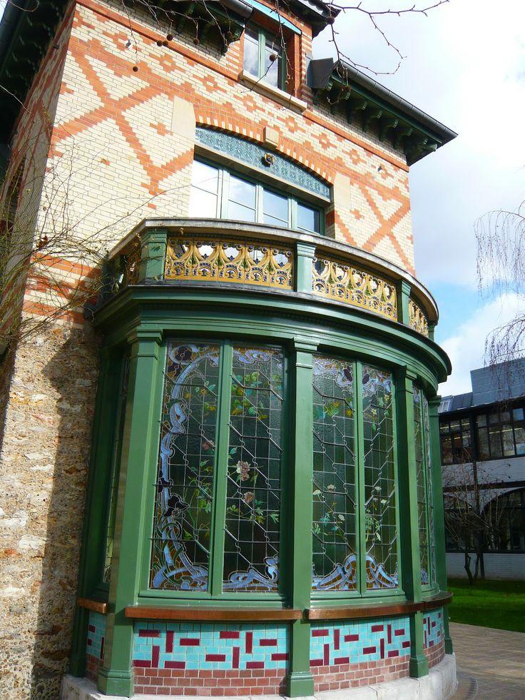 452 best images about art nouveau paris nancy for Maison familiale