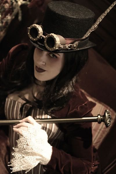 women's steampunk | Neo-victorian woman Steampunk woman
