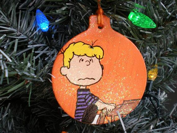 Schroeder Piano Charlie Brown Christmas by GalleryChristine, $18.00