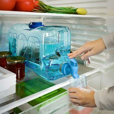 Pràctic dispensador d'aigua per a la nevera de 5'5 litres de capacitat!  Per a més informació:  Milar Paloma Major, 12 08221 Terrassa http://www.paloma.cat/ Telf. 93 780 13 22 o per e-mail a info@paloma.cat