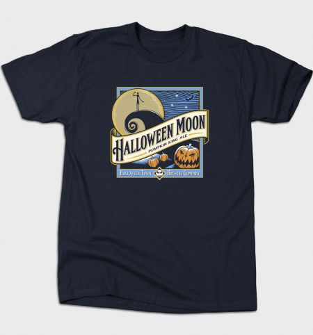 Halloween Moon from BustedTees