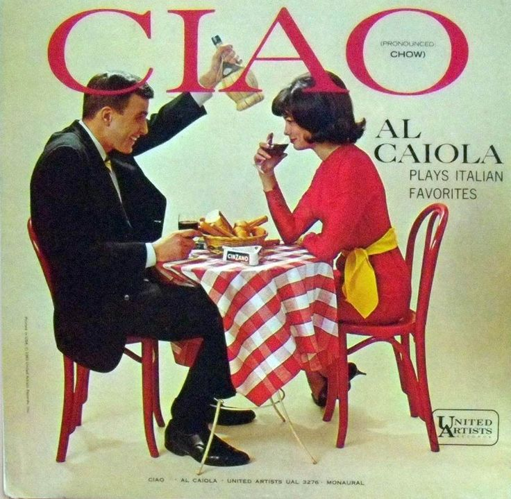 Al Caiola - Ciao (United Artists; 1963) #albums #records #vinyl