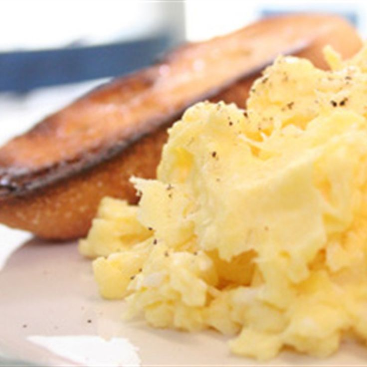 Try this French Style Scrambled Eggs recipe by Chef Laura Calder. This ...