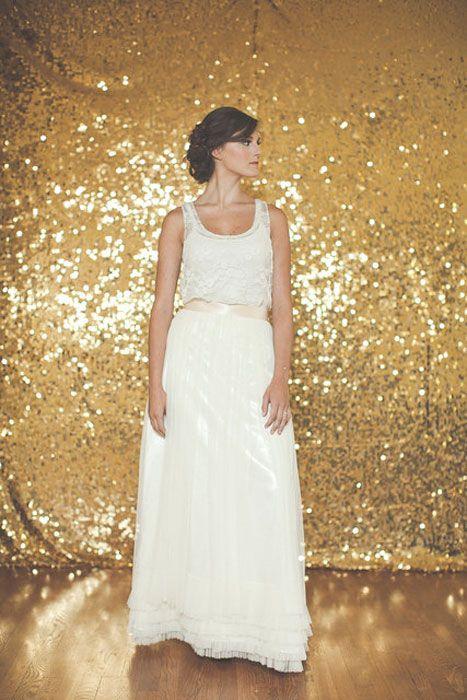 10 Alternative Wedding Dresses under $500   KT Jean Bridal Tulle Skirt