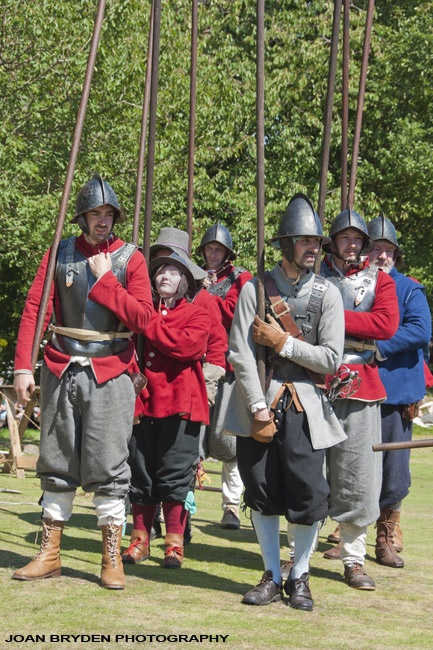English Civil War Pikemen
