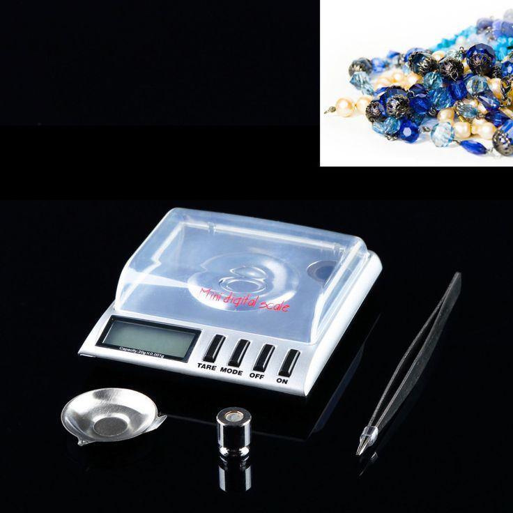 1pc 20g x 0.001g electronic Scale grams AMW Gemini bilancia balanza Digital Milligram/ Gram pocket jewelry Scale electronic  #Affiliate