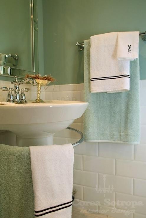 17 best images about bathroom ideas on pinterest for Seafoam green bathroom ideas