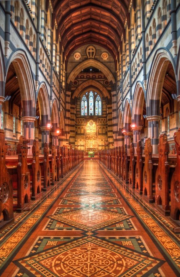 Melbourne Cathedral, Australia