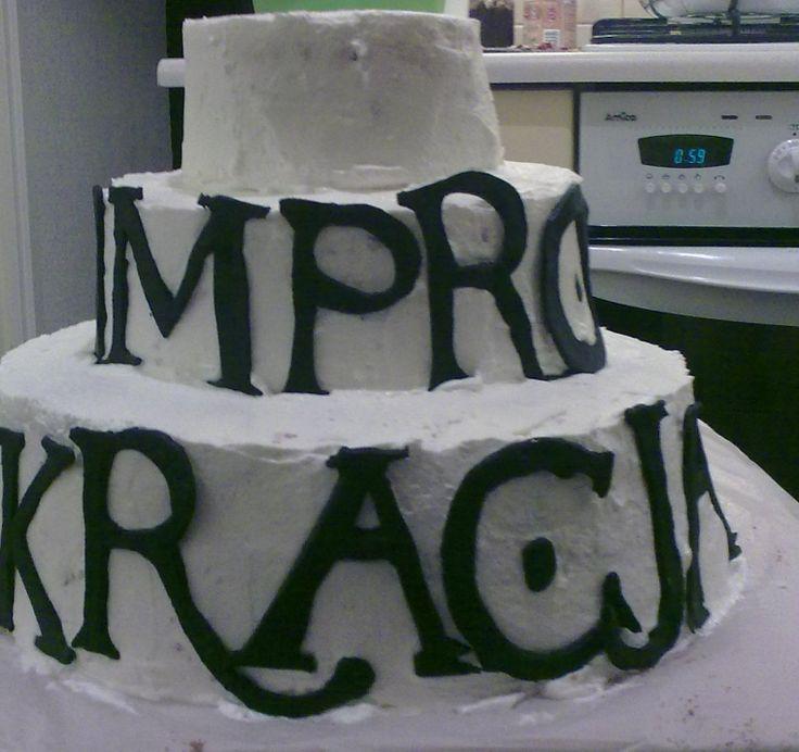 tort teatralno-urodzinowy
