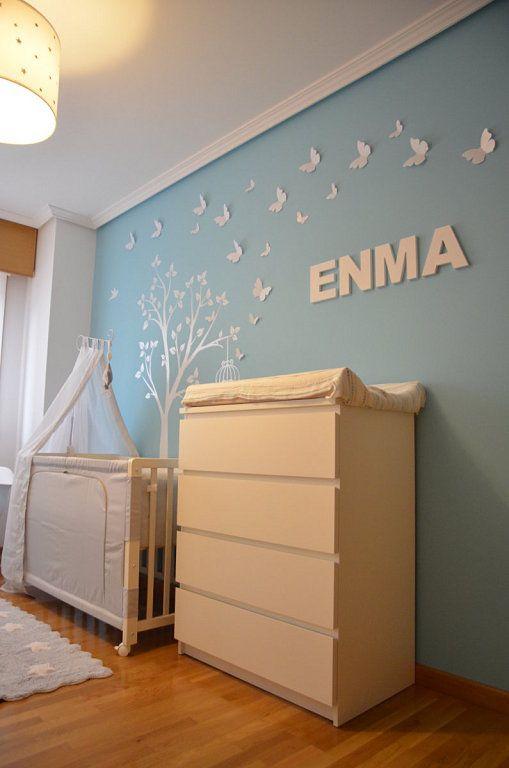 Las 25 mejores ideas sobre habitaci n beb ni a en - Dibujos habitacion bebe ...