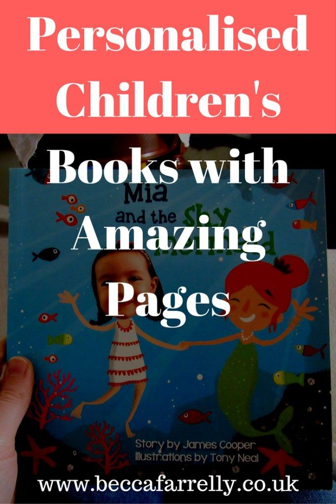Personalised Children's Books With Amazing Pages http://www.beccafarrelly.co.uk/personalised-childrens-books-amazing-pages/