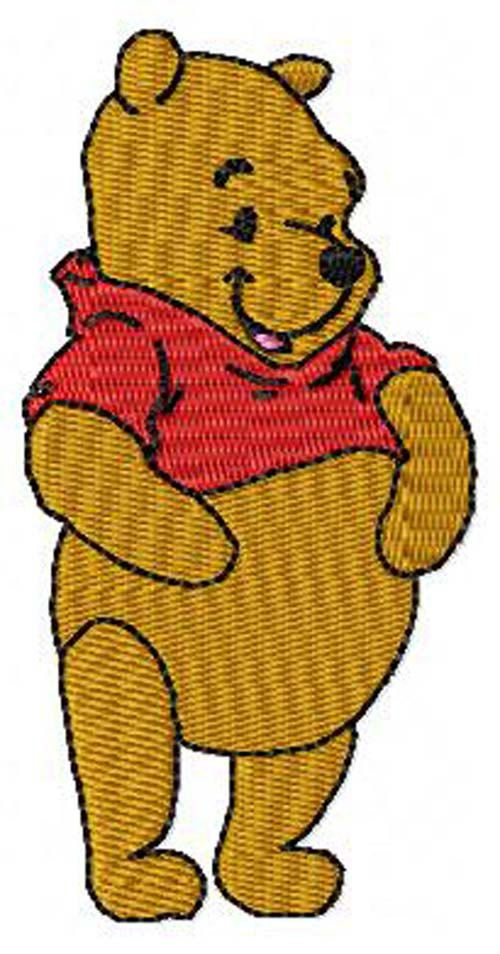 Winnie the Pooh Machine Embroidery Design Instant by JereStitches